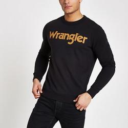 Wrangler Black sweatshirt found on MODAPINS from River Island - UK for USD $64.38