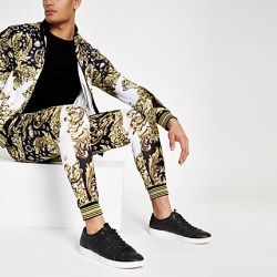 Mens Jaded London Black baroque jewel joggers found on MODAPINS from River Island - UK for USD $71.83