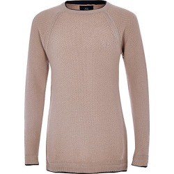 Boys Pink RI knit jumper found on MODAPINS from River Island - UK for USD $18.28