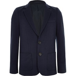 Boys Navy jersey blazer found on MODAPINS from River Island - UK for USD $37.96