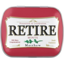 Retirement Gift Mint Tin - Retire Mints! found on Bargain Bro Philippines from Zazzle for $6.50