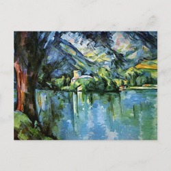 Cezanne - The Lac d'Annecy Postcard found on Bargain Bro Philippines from Zazzle for $1.20