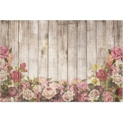 Roses Rustic Wood Decoupage 2 sheets of tissue paper found on Bargain Bro Philippines from Zazzle for $7.50