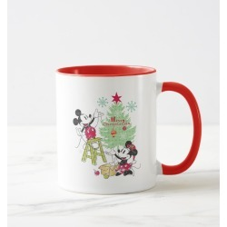 Disney Mickey & Minnie Classic Christmas Tree Mug found on Bargain Bro Philippines from Zazzle for $18.95