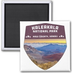 Haleakala National Park Hawaii Volcano Souvenir Magnet found on Bargain Bro Philippines from Zazzle for $3.95