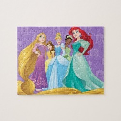 Disney Princesses Fearless Is Fierce Jigsaw Puzzle found on Bargain Bro Philippines from Zazzle for $18.95