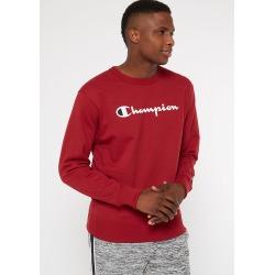 Champion Burgundy Fleece Crew Neck Sweatshirt