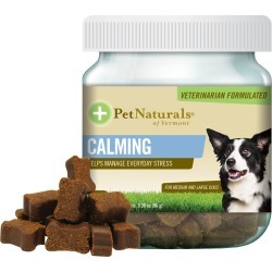 Pet Naturals Calming for Medium & Large Dogs (30 chews)