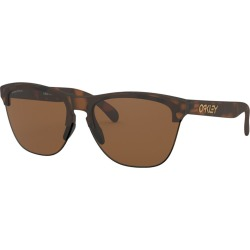 Oakley Frogskins Lite Matte Brown Tortoise Sunglasses w/Prizm Tungsten found on MODAPINS from The Warming Store for USD $143.00