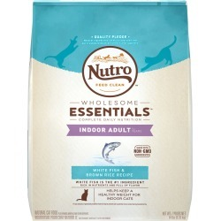 Nutro Wholesome Essentials White Fish & Brown Rice - Indoor Adult Cat (14 lb)