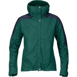 FjallRaven Women's Skogso Jacket - Copper Green/Dark Navy