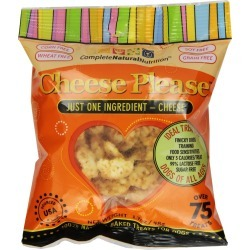 Cheese Please Natural Cheese Treats for Dogs (1.7 oz)