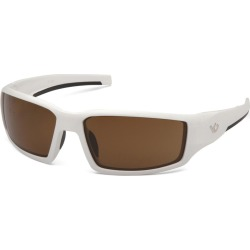Venture Gear Pagosa Bronze Anti-Fog Lens with White Frame
