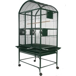 Dome Top Bird Cage with 3/4