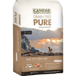 Canidae Grain Free PureElements Adult Dry Dog Food - Lamb (4 lb)