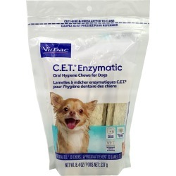 CET Enzymatic Chews for Extra Small Dogs (30 Chews)