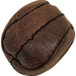 Howard Vintage Flat Basketball Dog Toy - Small found on Bargain Bro Philippines from entirelypetspharmacy.com for $7.19