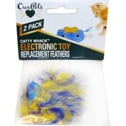 OurPets Play-N-Squeak Catty Whack Replacement Feathers found on Bargain Bro India from entirelypetspharmacy.com for $3.19