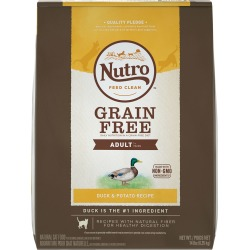 Nutro Grain Free Duck & Potato - Adult Cat (14 lb)