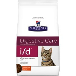 Hill's Prescription Diet i/d Feline Digestive Care with Chicken 8.5 lbs