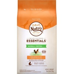 Nutro Wholesome Essentials Hairball Control Chicken & Brown Rice - Adult Cat (3 lb)