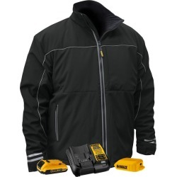 DEWALT Heated Lightweight Soft Shell Jacket Kit