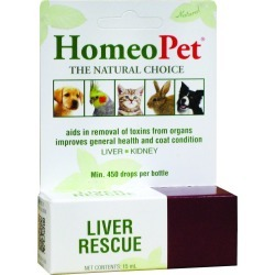 Homeopet Liver Rescue (15 ml)