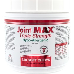 Joint MAX Triple Strength Hypoallergenic Soft Chews (120 Chews)