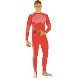 Glovii Heated Thermoactive Set of Long-Sleeved Shirt and Trousers - Red