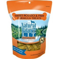 Natural Balance Limited Ingredient Treats - Sweet Potato & Fish (14 oz)