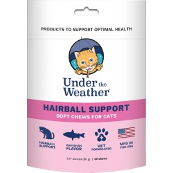 Under the Weather Soft Chews for Cats - Hairball Support (60 count)
