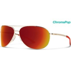 15725452c Smith Optics Serpico 2 Sunglasses Chromapop Sun Red Mirror - Gold Frame  found on MODAPINS from