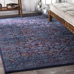 nuLOOM Rugs Vintage Medallion Rima Rug found on Bargain Bro India from zola.com for $204.99