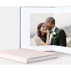 Artifact Uprising Layflat Wedding Album found on Bargain Bro India from zola.com for $139.00