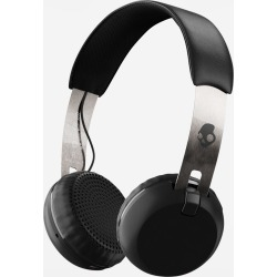 Skullcandy Grind Wireless Bluetooth Headphones - Black chrome