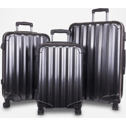 Genius Pack 3-Piece Hardside Luggage Set