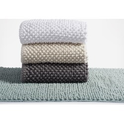 Coyuchi Pebbled Chenille Organic Bath Rug - Palest ocean found on Bargain Bro India from zola.com for $77.99