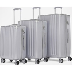 CALPAK Ambeur 3-Piece Luggage Set - Silver
