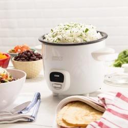DASH Mini Rice Cooker - White