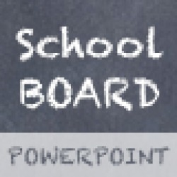 School Board - Creative Powerpoint Template found on Bargain Bro from  for $11