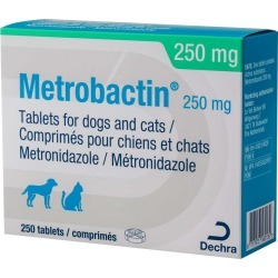 Metrobactin Tablets 250mg 250 tablets found on Bargain Bro UK from Pet Drugs Online