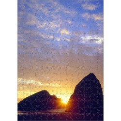 252 Piece Puzzle. USA; Oregon. Sunset over Gold Beach on the found on Bargain Bro Philippines from Media Storehouse for $45.15