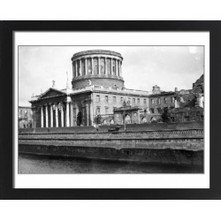 Large Framed Photo. Dublin. The Four Courts. August 1923 Note found on Bargain Bro Philippines from Media Storehouse for $180.45