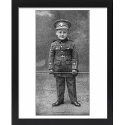 Large Framed Photo. Teddy Benson in uniform, a young recruiting found on Bargain Bro Philippines from Media Storehouse for $180.45