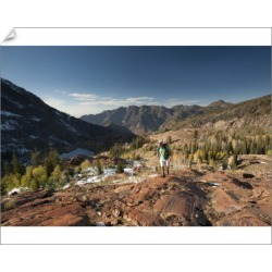 10 inch Photo. Hiking above Lake Lillian and Florence, found on Bargain Bro Philippines from Media Storehouse for $16.64