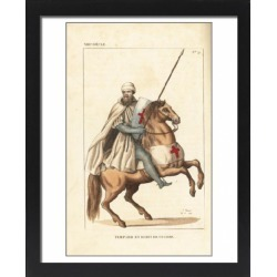 Large Framed Photo. Knight Templar in combat uniform, 13th found on Bargain Bro Philippines from Media Storehouse for $180.45
