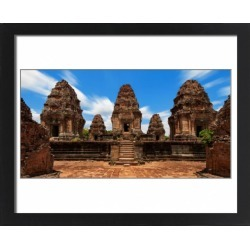 Large Framed Photo. East Mebon, Angkor, Siem Reap, Cambodia found on Bargain Bro Philippines from Media Storehouse for $180.45