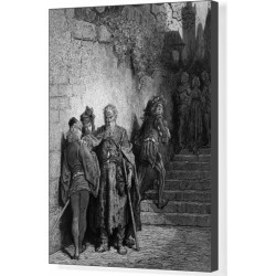 Box Canvas Print. The Wedding Guest being detained by the found on Bargain Bro Philippines from Media Storehouse for $180.45