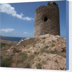 Box Canvas Print. The Torre Aragonese, a Spanish tower dating found on Bargain Bro Philippines from Media Storehouse for $180.45