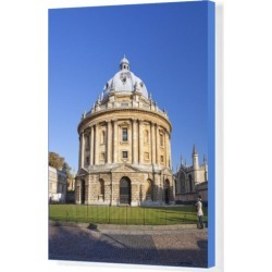 Box Canvas Print. Student stands in front of Radcliffe Camera, found on Bargain Bro Philippines from Media Storehouse for $180.45